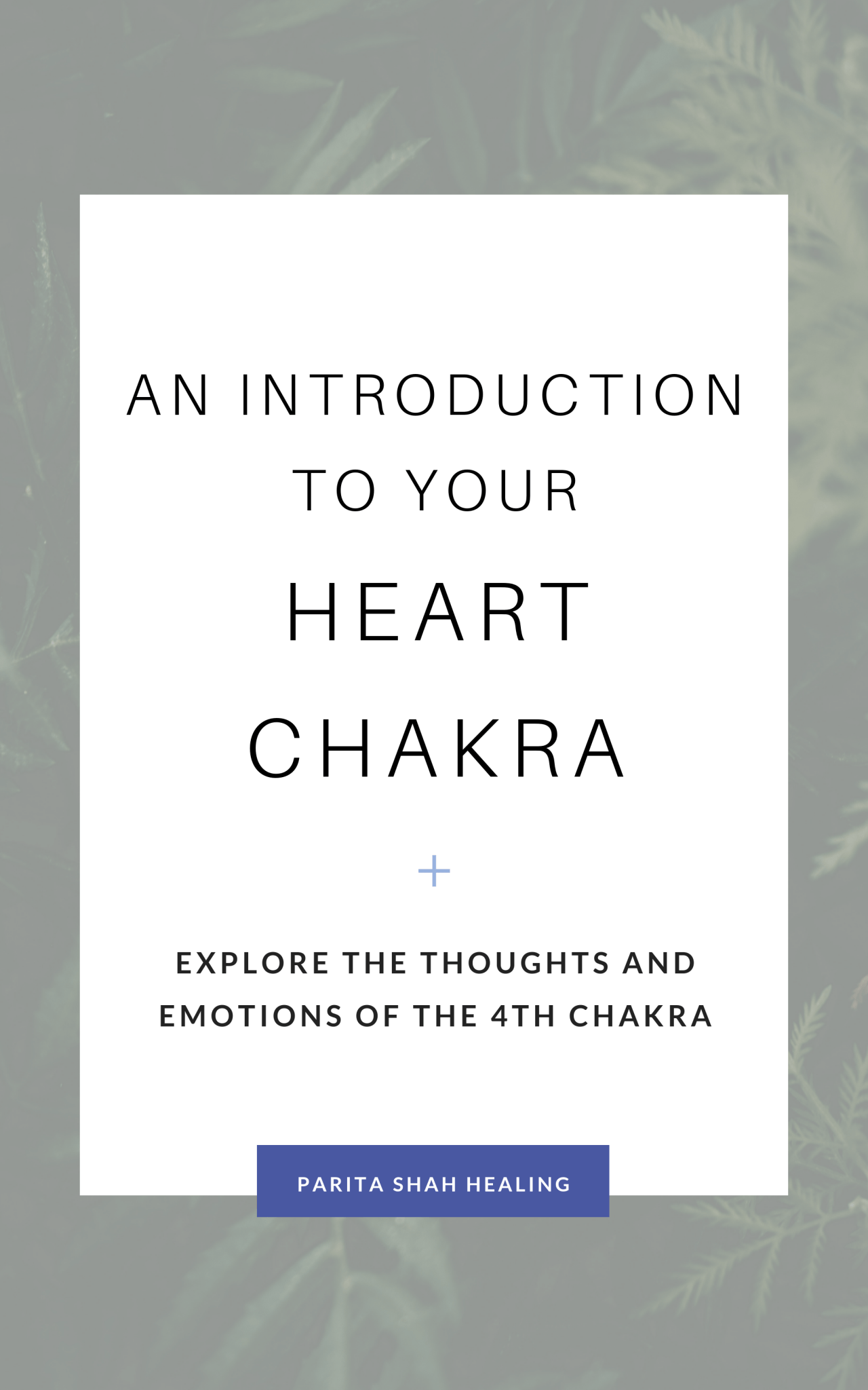 Introduction to the Heart Chakra - Chakras for Beginners